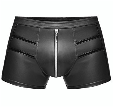 Shorts mit Lackapplikation
