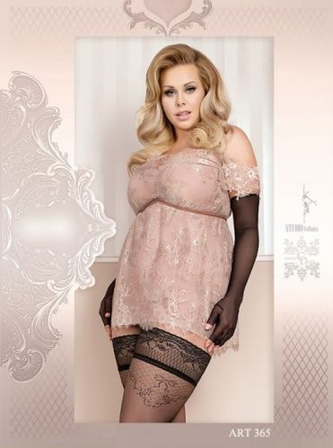 Hold Ups 20 DEN Plus Size BS10009