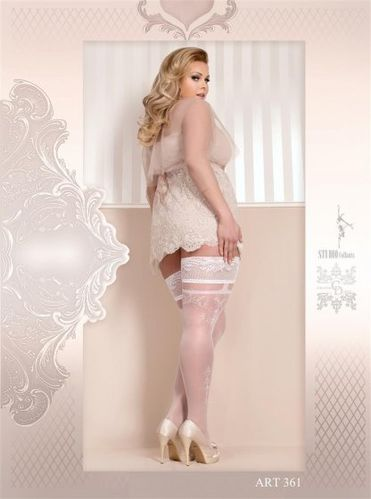 Hold Ups 20 DEN Plus Size BS10002