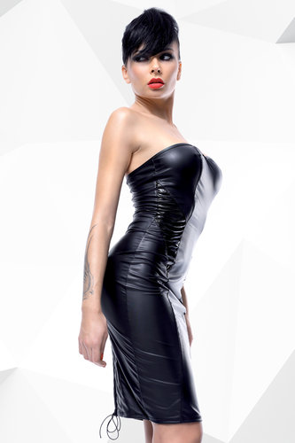 Wetlook Kleid Ellen