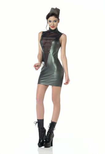 Wetlook Military Dress Uzi
